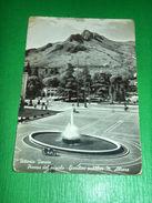 Cartolina Vittorio Veneto - Piazza Del Popolo - Giardini Pubblici 1955 - Treviso