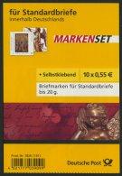 MARKENHEFTCHEN MH 76I **, 2008, Markenheftchen Winter Mit Weißem Hintergrund, Pracht, Mi. 40.- - [7] Federal Republic