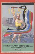 Calendar 1937 Deutsche Kalender Colors Farben Fabriken Calendario Germania - Calendari