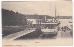 Juustila Old Unused Postcard Bb170620 - Finland