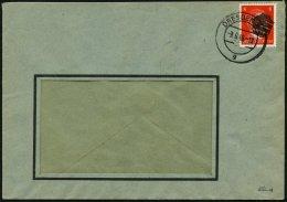 SÄCHSISCHE SCHWÄRZUNGEN AP 786II BRIEF, DRESDEN 21, 8 Pf. Auf Fensterumschlag, Pracht, Signiert - Soviet Zone