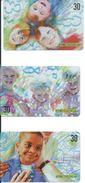 Jeu Enfant 3 Télécartes Brésil Phonecard (S. 194) - Jeux