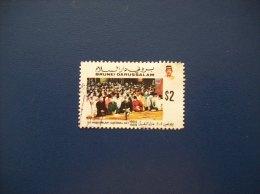 Bruneï: Timbre N° 412 (YT) Oblitéré - Brunei (1984-...)