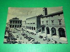 Cartolina Rimini - Piazza Cavour 1958 - Rimini