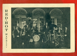 """ESTONIA TALLINN """"RED-HOT RAMBLERS"""" ORCHESTRA, Musicians VINTAGE CARD 521 - Other"""