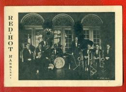 "ESTONIA TALLINN ""RED-HOT RAMBLERS"" ORCHESTRA, Musicians VINTAGE CARD 521 - Ansichtskarten"