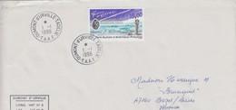 TAAF LETTRE 1996 POUSSIERES D'ETOILES   / 3 - Französische Süd- Und Antarktisgebiete (TAAF)