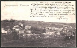 Cartolina Salsomaggiore, Totalansicht Vom Hügel Am Stadtrand Aus - Italia