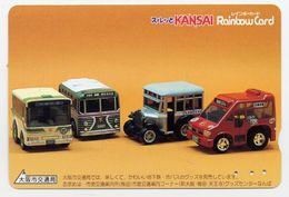 Voiture Car  Jeu Games Jouet  Carte Kansai Japon Card (S. 200) - Jeux