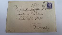 1425 B - 1932 LETTERA DA POLA PER VENEZIA - Storia Postale