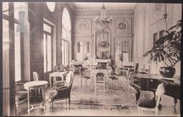 OLD POSTCARD - CP - AIX LES BAINS - HOTEL MIRABEAU - LE GRAND SALON - UNPOSTED UNCIRCULATED - Aix Les Bains