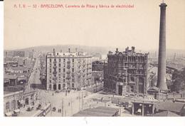 2124/ A.T.V. Barcelona, Carretera De Ribas Y Fabrica De Electricidad - Barcelona