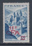 Réunion N° 305 XX Partie De Série : Conques Surchargé CFA Sans Charnière, TB - La Isla De La Reunion (1852-1975)