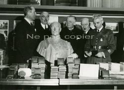 PARIS Collaborateur Taittinger, Bouffet, Bussière, Colonel Ferrier Vers 1942 - Guerra, Militares