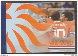 NEDERLAND Prestigeboekje Booklet Carnet WK 2010 MNH NEUF Football World Championschip - Postzegelboekjes En Roltandingzegels