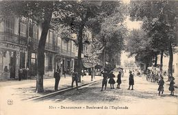 83-DRAGUIGNAN- BOULVARD DE L'ESPLANADE - Draguignan