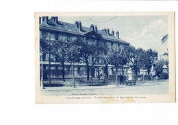 Cpm 73 - CHAMBERY - Gendarmerie Fontaine Des Escargots - G. Mainier - Chambery