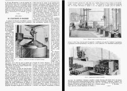 LES APPLICATIONS De L'ELECTRICITE EN BRASSERIE   1905 - Beer
