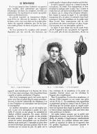 LE MONOPHONE    1905 - Téléphonie