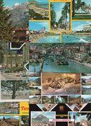 (B) 100  Cartes  25 France  25 Italie  25 Espagne  25  Belge - Ansichtskarten