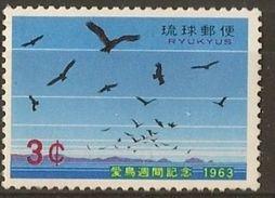 RYUKYUS 1963, Bird Week 1v - Autres