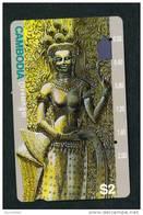 CAMBODIA - Magnetic Phonecard  Stock Scan - Cambodia