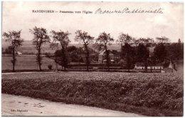 62 HARDINGHEN - Panorama Vers L'église   (Recto/Verso) - Francia