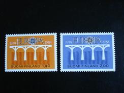 "Finlande - Europa 1984 ""Pont De Coopération"" - Y.T. 908/909 - Neuf (**) Mint (MNH) - Europa-CEPT"