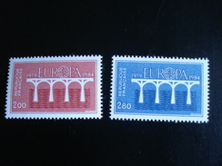 "France - Europa 1984 ""Pont De Coopération"" - Y.T. 2309/2310 - Neuf (**) Mint (MNH) - Europa-CEPT"