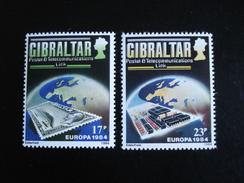 "Gibraltar - Europa 1984 ""Pont De Coopération"" - Y.T. 483/484 - Neuf (**) Mint (MNH) - Europa-CEPT"