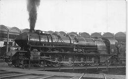 ¤¤   -  MIGENNES   -  Carte-Photo D'une Locomotive En Gare  -  ¤¤ - Migennes