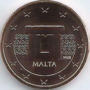 Malta  2017    2 Cent     NIEUW !!! Met Muntmeesterteken Monnaie De Paris Letter F  !!!  UNC Uit De BU  UNC Du Coffret ! - Malta