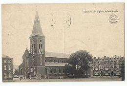 TAMINES - Eglise Saint-Martin - 1913 - Sambreville