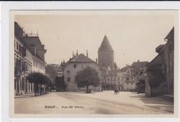 Bulle, Rue De Vevey. Attelage - FR Fribourg