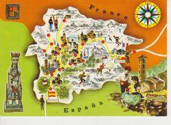 (MAP4) ANDORRA. MAPA. MAP. MAPE ... UNUSED - Mapas