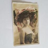 Paule Delys - Femme à La Mode - Chapeau Au Noeud - Walery Photo - Attention Carte Abimé - Mode