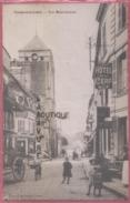 58 - COSNE SUR LOIRE---Rue Saint Jacques--hotel Du Cerf---animé - Cosne Cours Sur Loire
