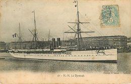 Bateaux - Paquebots - M.M. Le Djemnah - état - Piroscafi