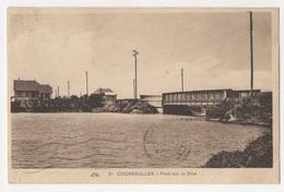 14 CALVADOS - COURSEULLES SUR MER Pont Sur La Dive - Courseulles-sur-Mer