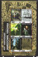NIUE 2007 JAMESTON-FLEURS-BATEAUX  YVERT N°892/97  NEUF MNH** - Niue