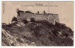 Militaria-04-Les Alpes-Vallée De L'Ubaye-St-VINCENT ( 1300 M.)- Le Fort Vauban- CPA Scans Recto-verso - Sin Clasificación