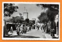Maroc. Mogador ( Essaouira). Souk Aux Tissus - Maroc