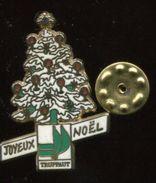 Pin's - Sapin De Noël TRUFFAUT Joyeux Noël - Christmas