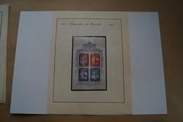 RARE,Expo 58 ,Exposition Bruxelles 1958,collection,feuillet De 4 Timbres,poste Vaticane,strictement Neuf Pour Collection - Vieux Papiers