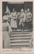AK Kronprinz Friedrich Wilhelm Hauptquartier Bayern Weltkrieg 1914 1915 Kaiserhaus Kaiser Hohenzollern Adel Militär - Weltkrieg 1914-18