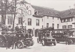 REPRO Basel Fahrzeugpark Feuerwache, 1910 - Sapeurs-Pompiers