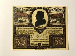 Allemagne Notgeld Artern 50 Pfennig - [ 3] 1918-1933 : République De Weimar