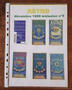 Astro Décembre 1999 émission N°5 - 13 Tickets De Loterie - Complet - Billets De Loterie