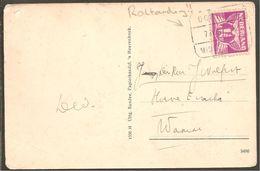 Blokstempel. Domburg-Middelburg B. SP 5. ROLTANDING No. 35. Anzicht Domburg - Poststempels/ Marcofilie