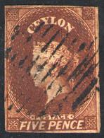 622- Ceylan Nº 4 - Briefmarken